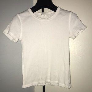 Aritzia crop T-shirt